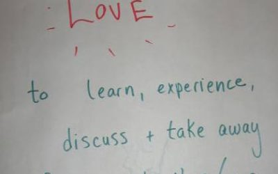 Postcards from Thrivability Camp: Thriving is Learning
